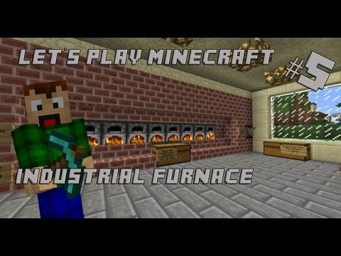 Industrial furnace minecraft project for How to craft a furnace in minecraft
