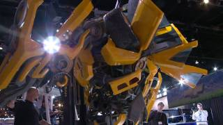 Lifesize Bumblebee Autobot Build