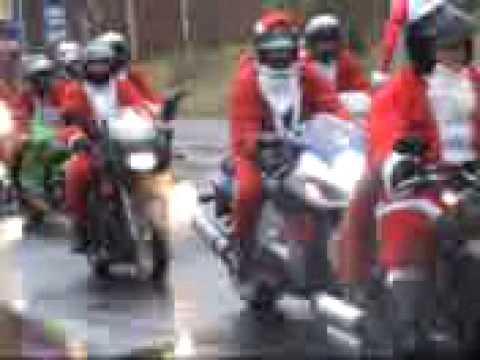 Mikołaje na motocyklach 2008