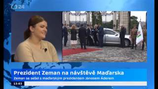 Prezident Zeman na návštěvě Maďarska