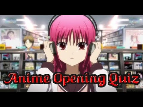 Anime Opening Quiz: Very Easy-Very Hard (50 Openings)