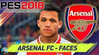 Video Pro Evolution Soccer 2018 Arsenal FC Faces / Caras MP3, 3GP, MP4, WEBM, AVI, FLV November 2017