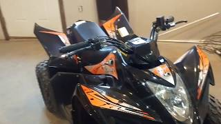 9. All Around Performance.com KYMCO Mongoose 90 cc walk thru