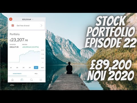Stock Portfolio UK Episode 22 £89,200 - SLAP IN THE FACE!! (28/11/2020) Trading212 ISA