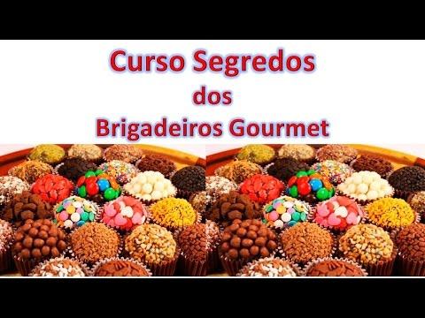Curso Segredos dos Brigadeiros Gourmet