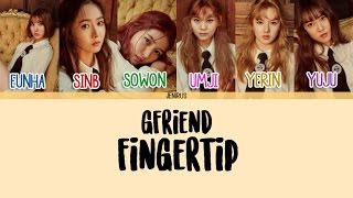 Download Lagu GFriend - FINGERTIP [Han/Rom/Eng] Picture + Color Coded Lyrics HD Mp3