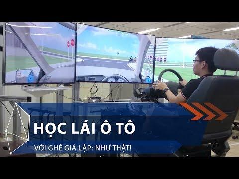 Học lái ô tô với ghế giả lập: Như thật! | VTC1 - Thời lượng: 8 phút, 48 giây.
