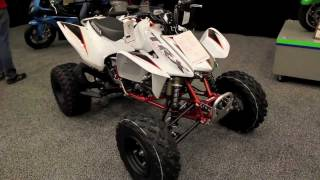 8. 2012 Honda TRX450R - Review & Walkaround New Honda TRX 450R Quad