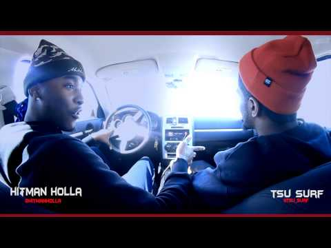 HITMAN HOLLA & TSU SURF GO FACE TO FACE ABOUT THERE BATTLE & BATTLE RAP ON CDUBTV