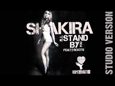 Tekst piosenki Shakira - I'll stand by you po polsku
