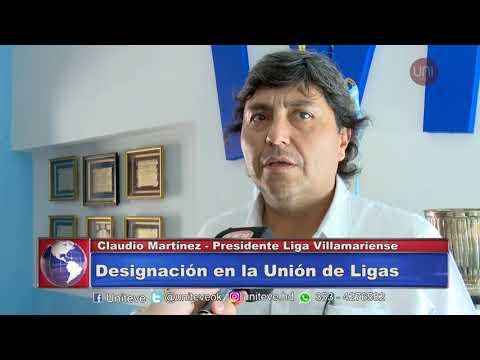 Martínez presidirá la Unión de ligas