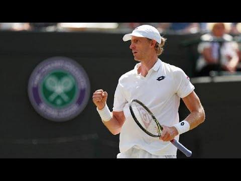 South Africa's Anderson stuns Federer in Wimbledon quarter-final