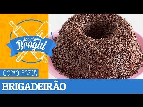 Receitas Doces - COMO FAZER BRIGADEIRÃO  Ana Maria Brogui #30