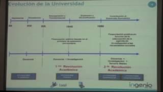 MAESTRÍA EN GESTIÓN DE LA INVESTIGACIÓN - Ignacio Fernández de Lucio, PhD.