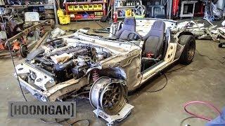 Download Youtube: [HOONIGAN] DT 140: $200 Miata Kart Build [Part 1]