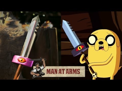 smosh - Watch Smosh's Adventure Time video! ▻ http://bit.ly/AdventureTimeSmosh Which weapon will be next? ▻ Subscribe! http://bit.ly/AWEsub Every other Monday, maste...
