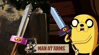 Jake's Sword (Adventure Time) Feat. Smosh - MAN AT ARMS
