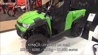 3. The KYMCO UXV 450i ATV 2017