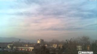 Scandiano (RE) Time Lapse 10-01-2015 [FULL-HD]