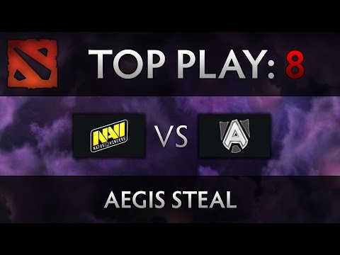 Dota 2 TI4 Top Play – Na'Vi vs Alliance – Aegis Steal