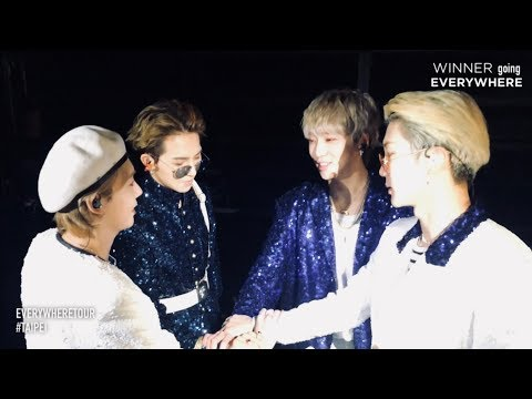 WINNER - EVERYWHERETOUR BACKSTAGE in TAIPEI
