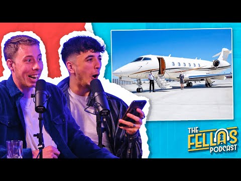 Exclusive £50,000 Holiday, No Nut November & Tiger Feeding - The Fellas FULL Podcast Ep 4