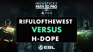 As part of the Injustice Championship Series, the Path to Pro is set over twelve weeks, and will enable players of all levels to compete online in Europe's official Injustice 2 tournament. Each week players will compete online using ESL's native Playstation tournament integration for prize money and a coveted spot in the Path to Pro online European Grand Finals.The Path to Pro will feature a broadcast of the top 8 players once per month.Follow all the action at esl.pm/inj2pathtoproThe Path to Pro will feature a broadcast of the top 8 players once per month.