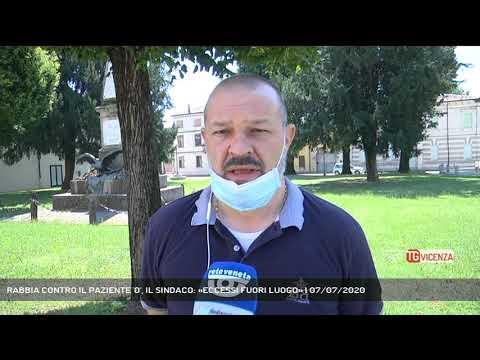 RABBIA CONTRO IL PAZIENTE '0', IL SINDACO: «ECCESSI FUORI LUOGO» | 07/07/2020
