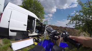 7. Fist start up and walkaround 2016 Yamaha YZ250f