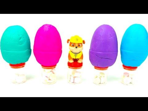 Сюрпризы в пластилине для детей - DomaVideo.Ru