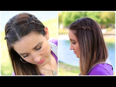 DIY 4-Strand Waterfall Braid | Cute Girls Hairstyles