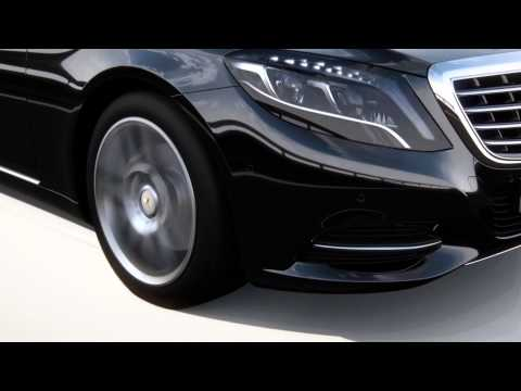 2014 Mercedes S-Class – assistance systems animation