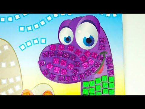Игровой набор для детей украшаем динозаврика - DomaVideo.Ru