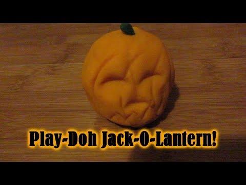Play doh - Play-Doh Jack-O-Lantern!! [Day 2635 - 01.17.18]