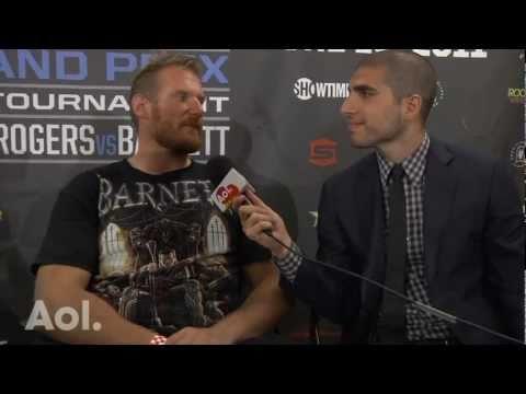 Strikeforce: Josh Barnett Describes Win Over Brett Rogers as 'Perfect'