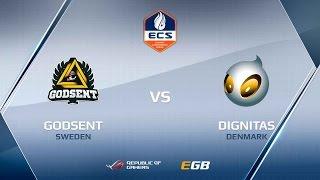 Dignitas vs GODSENT, game 1