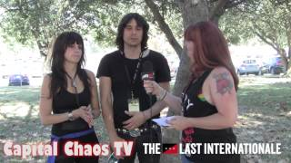 The Last Internationale (interview) @ Aftershock 2014 on CAPITAL CHAOS TV