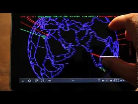 Video of 3D Stock Market