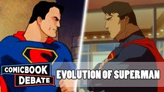 Nonton Evolution Of Superman In Cartoons In 33 Minutes  2018  Film Subtitle Indonesia Streaming Movie Download