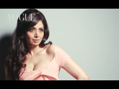 Sridevi - The Bambi-eyed comeback queen sizzles on her very first cover shoot, proving that true divas only get better with age. OUT NOW! VOGUE India Magazine for iPad...