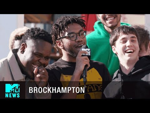 BROCKHAMPTON Talk 'Saturation III' & Redefining 'Boyband' | MTV News