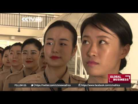CCTV Africa - Ethiopian Airlines hires chinese cabin crew