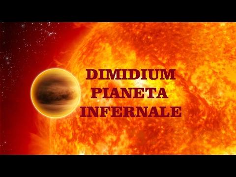 dimidium - esopianeta infernale con acqua