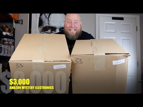 I bought a $3,130 Amazon Customer Returns Electronics Pallet / Mystery Boxes + HIGH END SAMSUNG