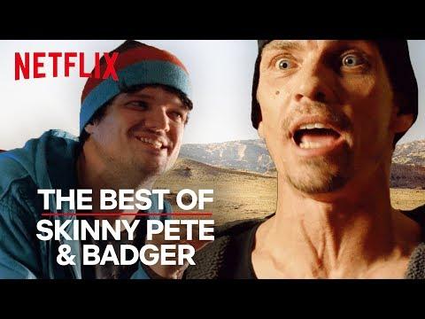 Breaking Bad | The Best of Skinny Pete & Badger | Netflix