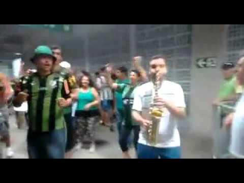 Saida da Barra Una no jogo America x Vitoria - Barra Una - América Mineiro