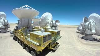Alma Observatory Antenna Relocation TimeLapse
