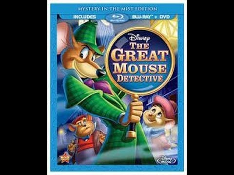The Great Mouse Detective Bluray Unboxing