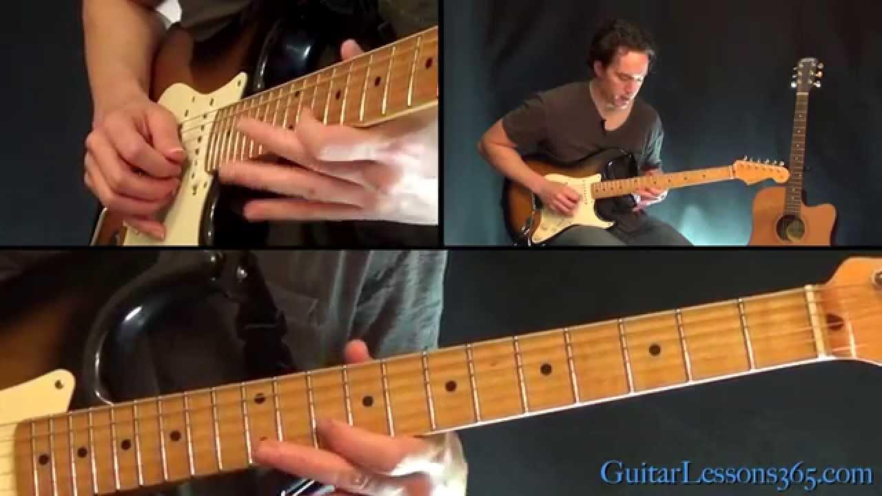 More Than A Feeling Guitar Lesson Pt.2 – Boston – All Electric Guitar Rhythm Parts