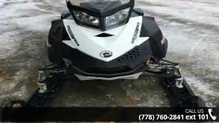 10. 2011 Ski-Doo Summit X Rotax E-TEC 800R 163  - Banner Recr...